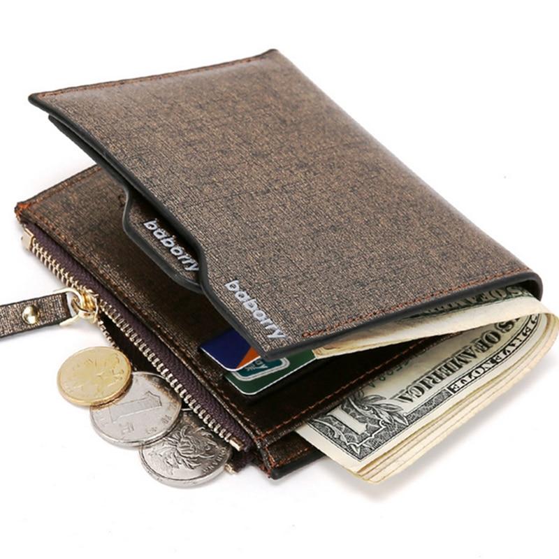 Nová značka Multifunction Casual Man peněženka s kapsičkou na mince kapesní odnímatelná držitelé karet pečlivě pro muže zlatá modrá