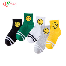 5Pairs/Lot Baby White Kid Socks Spring Style Solid Thin Soft Cotton Children For Boys Girls Sport Students Socks CHS004 6pairs lot mipp baby white kid socks spring soft cotton children for boys girls sport students socks hand sewn without bone