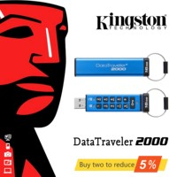 Original Kingston 16GB 32GB high speed USB3.1 enterprise class encryption business USB flash drive u disk DT2000 PenDrives