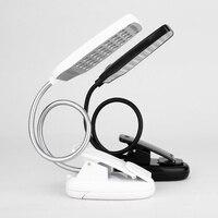 28 LED Reading Desk Lamp Flexible USB Clip Table Light Portable Free Shipping