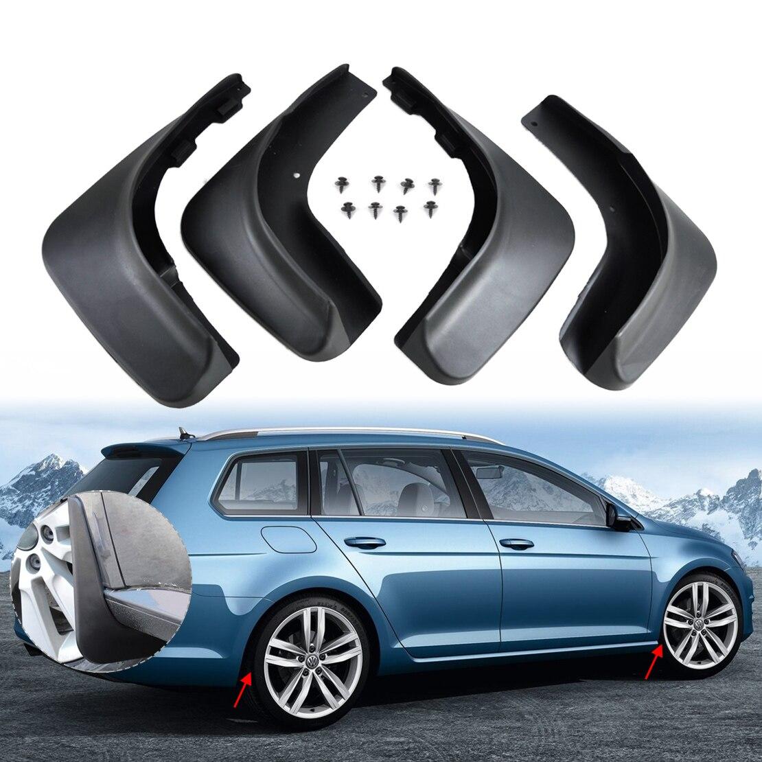 Volkswagen Golf Hatchback Review 2009 2012: Beler 4pcs/set ABS Plastic Mud Flaps Splash Guards