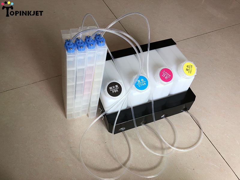 Vertical CISS for Mutoh 1614 Valuejet Continuous Ink Supply System (4 ink tanks+4 ink cartridge CISS)