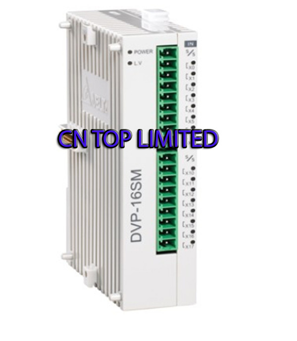 DVP16SM11N Delta S Series PLC Digital Module DI 16 new in box s plc 6es7214 1ad23 0xb0 new in box