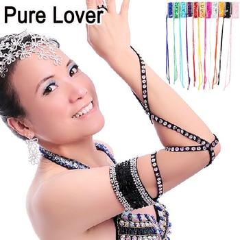10pcs/ot belly dance costume accessories Beaded snake arm band Arm gloves cuff bracelet  bangle ta006