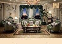 2017 лидер продаж, Бесплатная доставка в Великобританию! европа Стиль Мебель для дома диван Гостиная с Чейза, груди, Кофе стол, столик