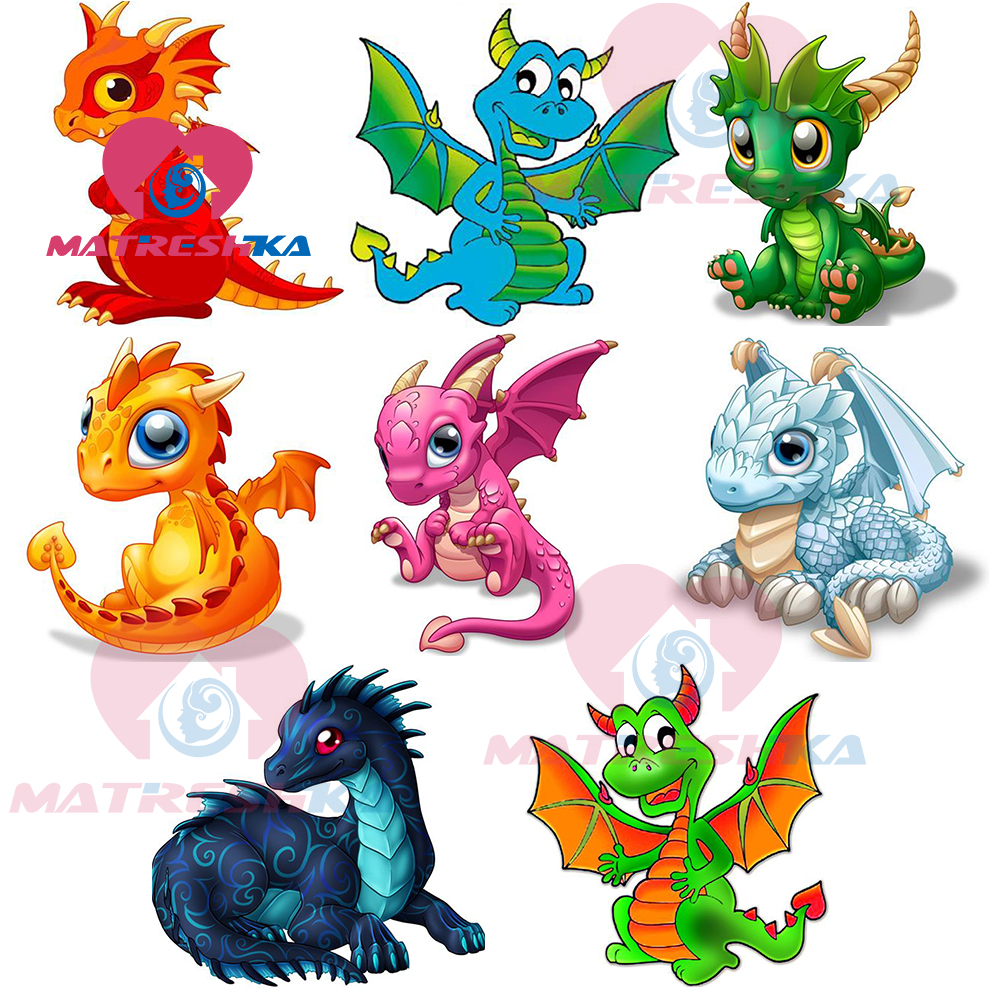 diamond mosaic diamond painting dragon pictures of rhinestones sale cartoon diamond embroidery for children coloring by numbers(China)