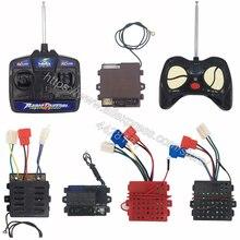 Детский электромобиль с дистанционным управлением 27 МГц, детский автомобильный универсальный пульт дистанционного управления, игрушечный Автомобильный контроллер, радиопередатчик