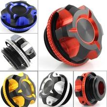 цены Engine Oil Filter Filler Cap Plug Covers For Kawasaki Ninja 1000 Ninja 400 Versys 1000 Z900 For Ducati 959 1299 1199 PANIGALE