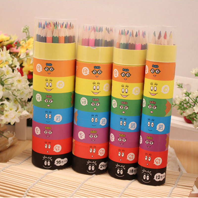 Secret Garden colored pencils coloring pencils 12 18 24 36 48 color water-soluble colored pencil creative stationery factory
