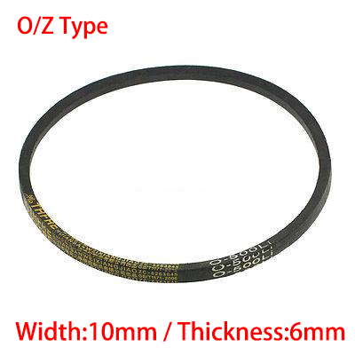 Z/O 889 900 914 10mm largeur 6mm épaisseur rainure en caoutchouc machines enroulées bande de Transmission cale corde Vee V courroie de distribution
