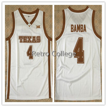 de491435f  4 Mohamed Mo Bamba Texas Longhorns Retro Throwback Basketball Jersey Mens  Stitched Custom any Number