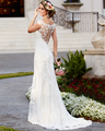 Vintage High End Vestido De Noiva 2016 New Elegant Appliques Beaded Crystals Strapless Mermaid Organza Wedding Dresses Plus Size