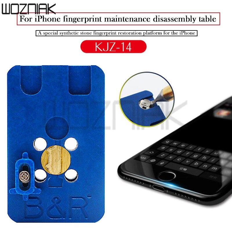 все цены на Home Return Button Repair Tool For iPhone 8 8p 7 7p 6s 6g Heating Station Fingerprint Function Quick Fix Return Key Platform онлайн