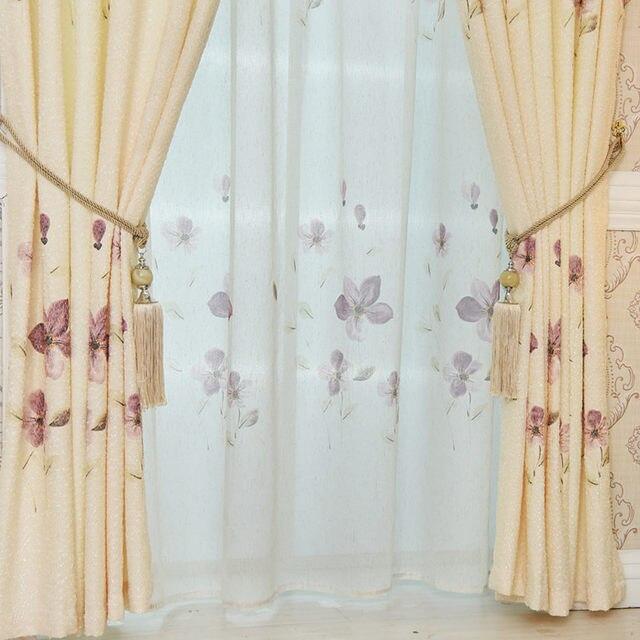 Online Shop De nieuwe Europese warm romantische gordijnen goedkope ...