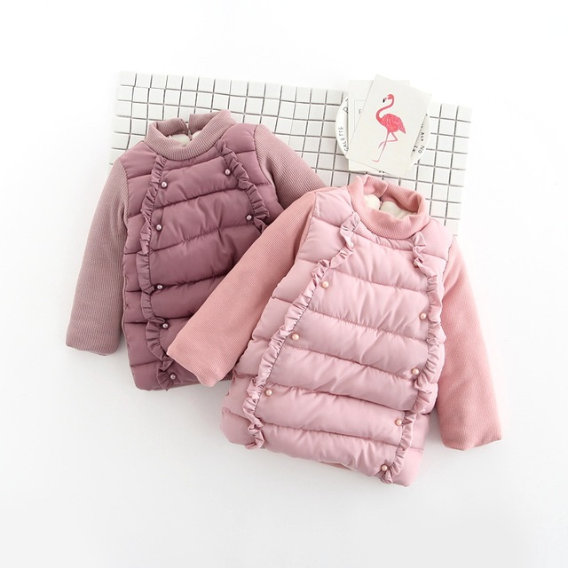 22f3030a2 BibiCola winter warm thick girls sweater 2018 cotton fleece velvet ...
