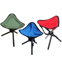 Outdoor Portable Camping Tripod Folding Stool Chair Foldable Fishing Mate Fold Chair Ultralight Fishing Chairs