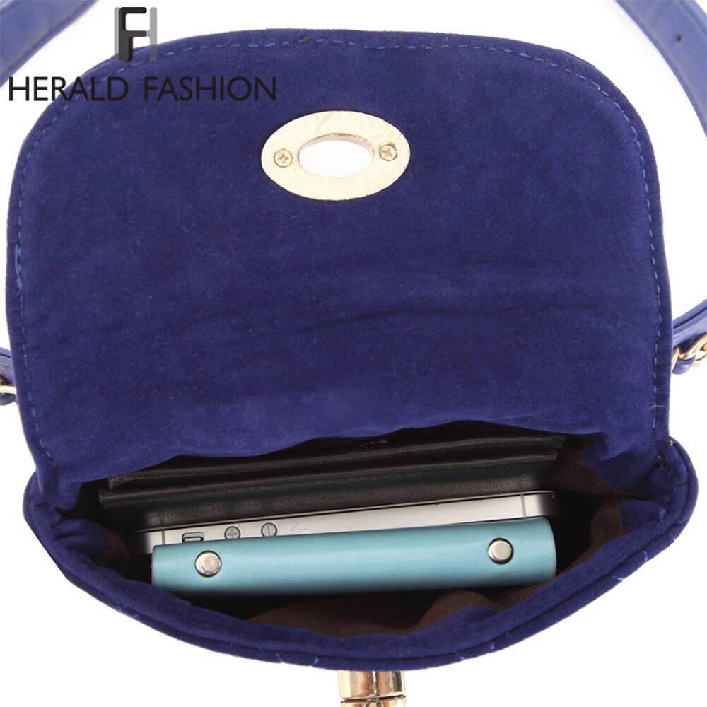 31858f52776 Herald Fashion Lint Women Waist Belt Bag Chain Belt Pack Waist Bag Plaid  Small Women Bag Travel Bag Waist Pack Bolsas