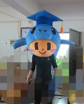 High quality Dolphin Mascot Costume Fancy Dress Adult Suit Party Dress