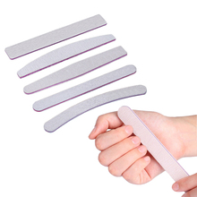 5pcs/lot Double Side Nail File 100/180 lime a ongle Professional Files for Manicure Polish Accessories Tool 5 Shapes
