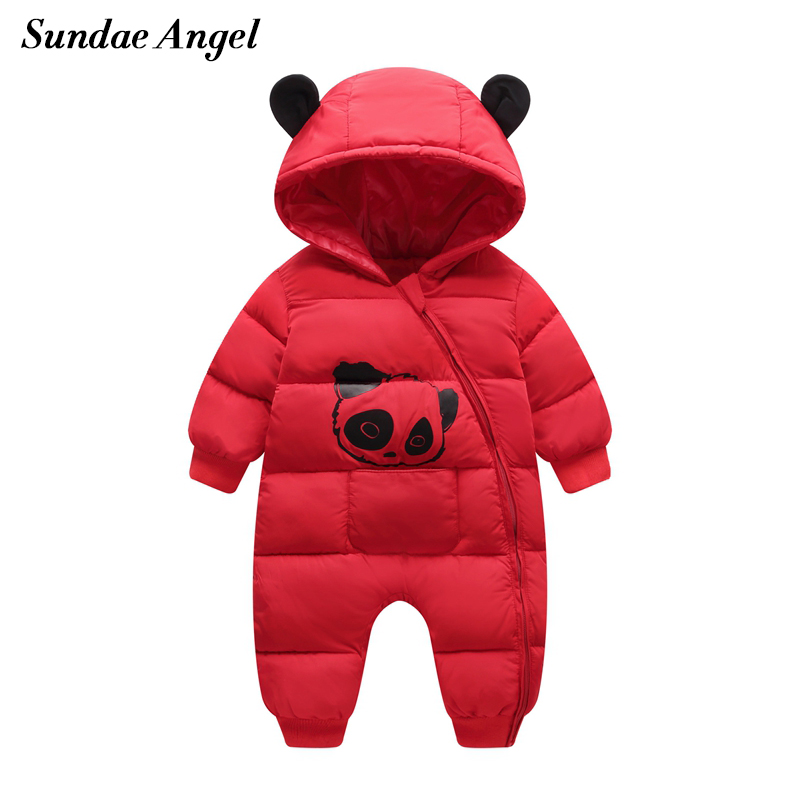 New 2018 baby Winter Clothes Cotton thick Warm Hooded baby jumpsuit Newborn Baby Boy girl Romper children Snowsuit down clothing clevo p150hmbat 8 battery for p150em 6 87 x510s 4d72 6 87 x510s 4d73 x510s eon17 s clevo laptop batteries