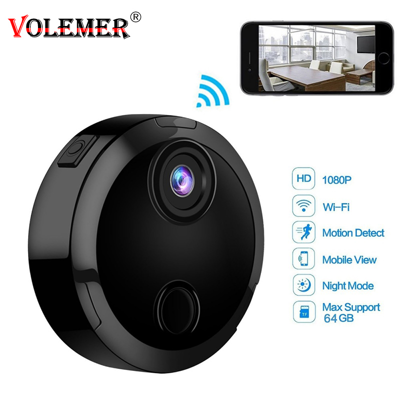 HDQ15 Mini Camera 1080P Wifi IP Network Camcorder Sensor Infrared Night Vision Motion Support TFcard Recording