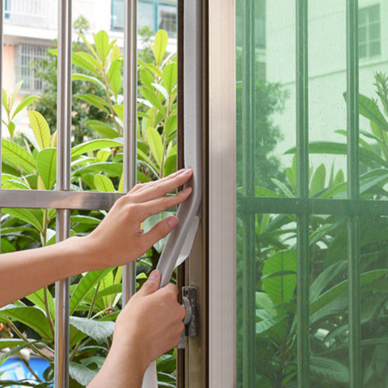 Door Window Foam Sticky Tape Strip Seal Noise Insulation Excluder Tape Roll