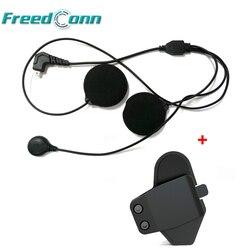 Mały mikrofon i uchwyt montaż zacisku klip dla FreedConn T-MAX kask domofon Bluetooth dla pełna twarz Intergral kask