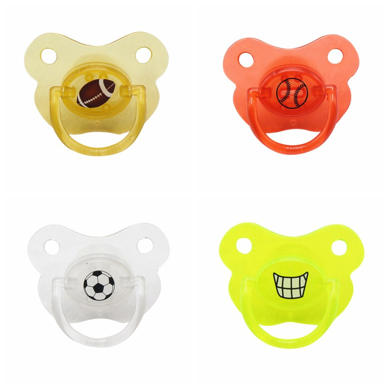 Silicone Funny Nipple Dummy Pacifier Baby Soother Toddler Teether Baby Pacifier Hilarious Baby Silicone Nipple Q1