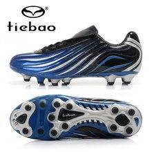 TIEBAO Professional Botas De Futbol футбольные бутсы AG подошва, для футбола обувь Обучение подростков футбольные бутсы EU 39-44