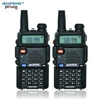 Black BaoFeng UV 5R Talkie Walkie Long Range Professional Transceiver CB Radio Baofeng Uv5r 5W VHF