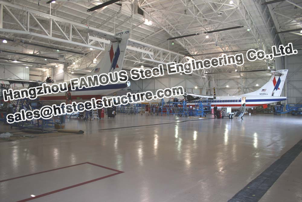 Pre Engineered Steel Structure Aircraft Hanger