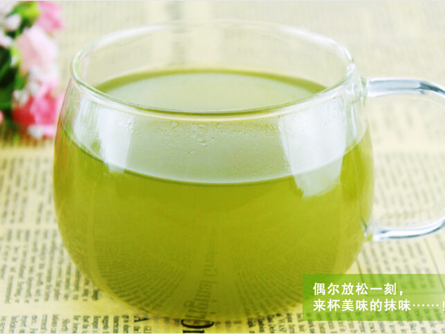 Promotion ! 100g Japanese Matcha Green Tea Powder 100% Natural Organic slimming tea reduce weight loss food  wholesale