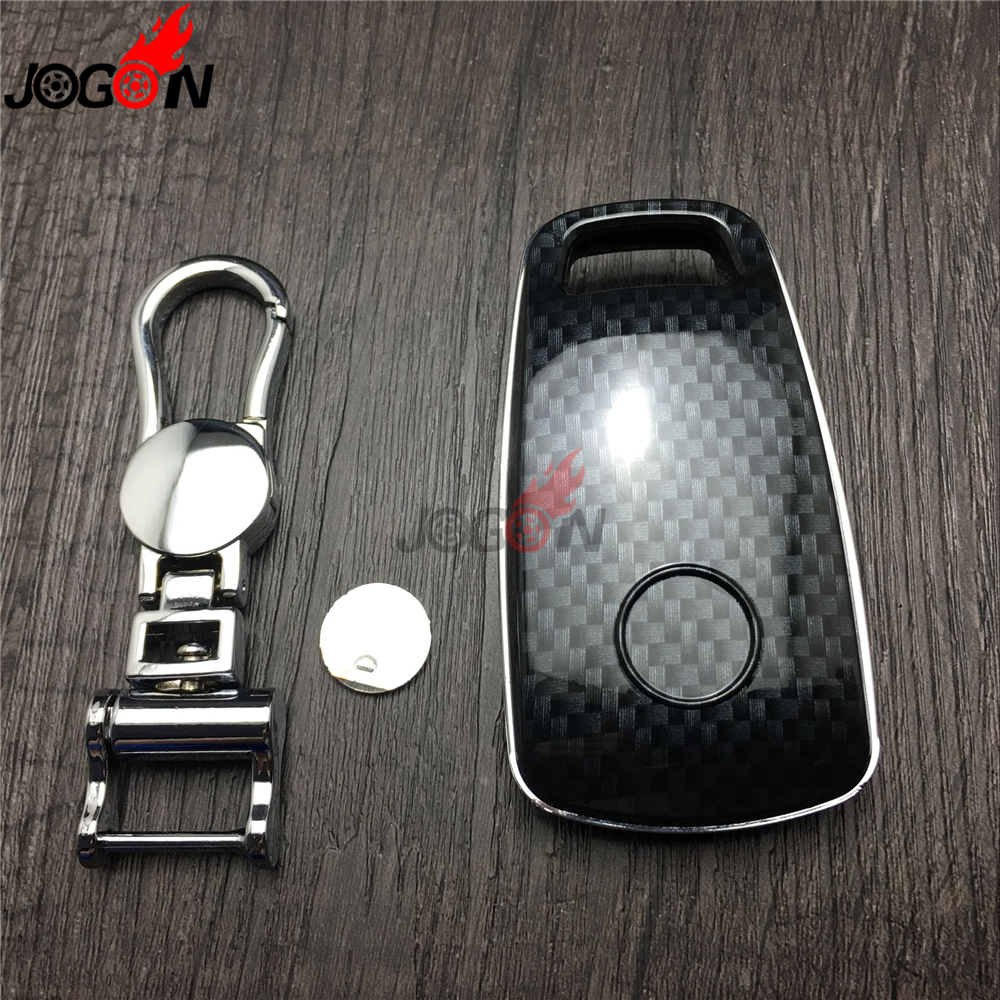 2018 audi key fob cover. interesting key aliexpresscom  buy carbon fiber look smart key fob case bag shell holder  chain ring cover for audi q7 4m 2016 2017 from reliable fob cover suppliers  2018 audi key s