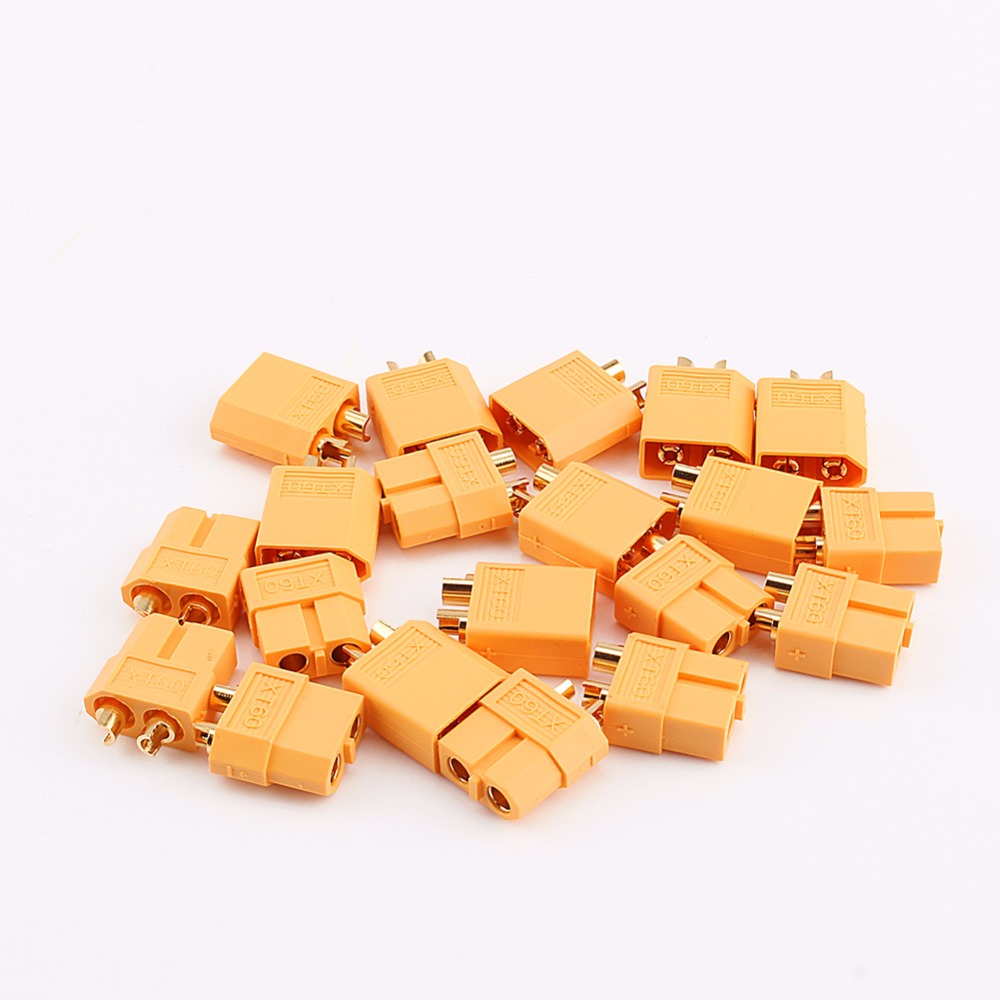 XT60 Plug Lipo Battery XT60 Male & Female Bullet Connectors Plugs For RC LiPo Battery High Quality Remote Control RC Spare Parts xt60 10 pairs male female bullet connectors plugs for rc lipo battery