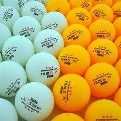 30 Uds. 3 estrellas 40mm 2,8g pelotas de tenis de mesa pelota de Ping pong blanca naranja pelota de Ping pong Amateur pelota de entrenamiento avanzado