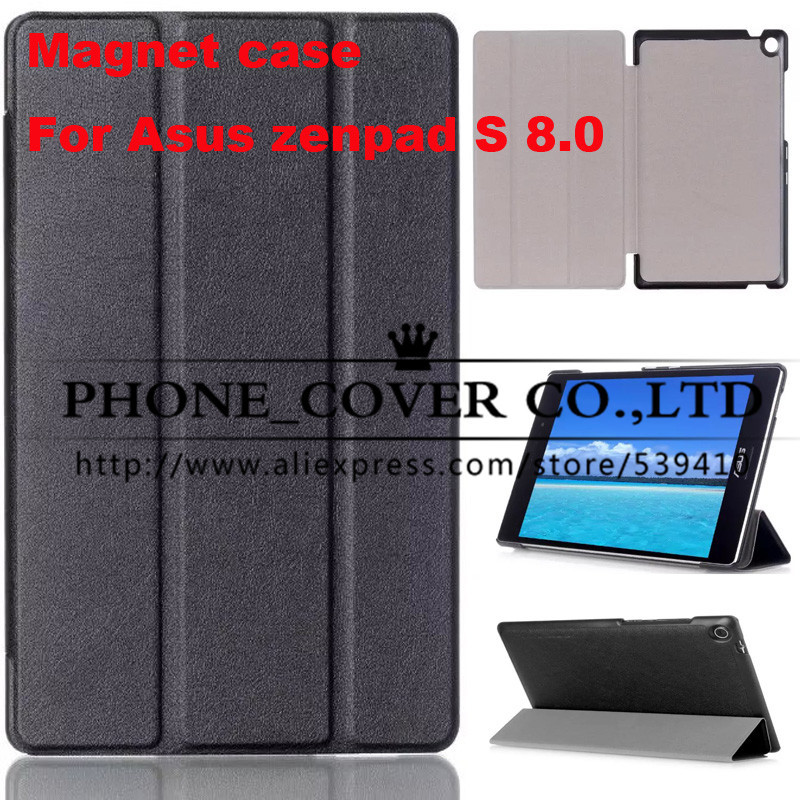 цены Magnetic Stand pu leather Case cover For ASUS Zenpad S 8.0 Z580 Z580CA Z580C 8