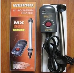 Titanový akvárium Weipro Ohřívač 200W 300W 500w, certifikát CE IPX8