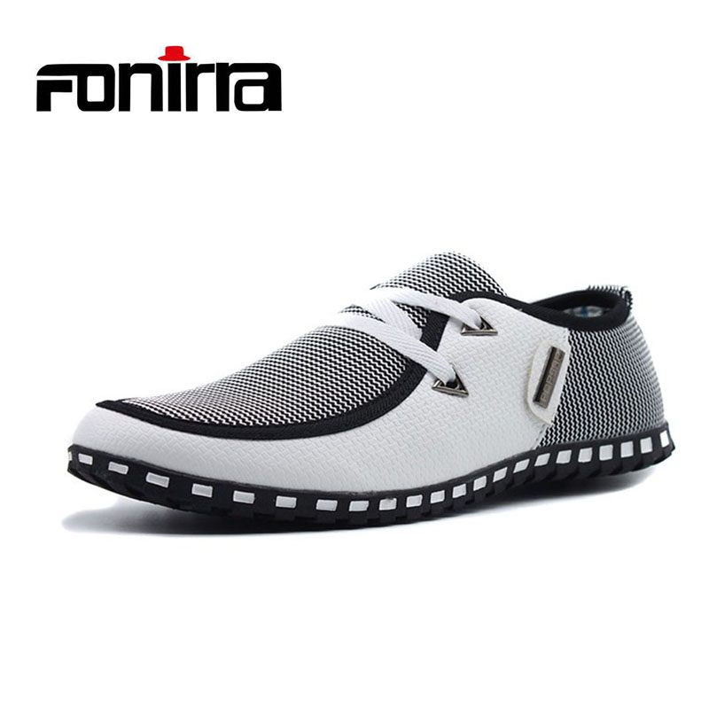 Men Casual Shoes Breathable Light Flats Shoes Leather Loafers Slip On Mens Flats Driving Shoes Plus size FONIRRA 38-47 176 5mp ip camera wifi module motion sensor h 265 ip cameras 1080p wi fi cctv camera video surveillance with wifi alarm tf card port