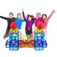 New Mini Magnetic Building Blocks Magnet Game Models Building Toy Plastic Technic Bricks Children Learning Educational