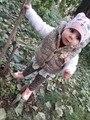 Hot venda nova crianças clothing outono e inverno infantil térmica estampa de leopardo colete amassado jaqueta colete criança para meninas Quentes casaco