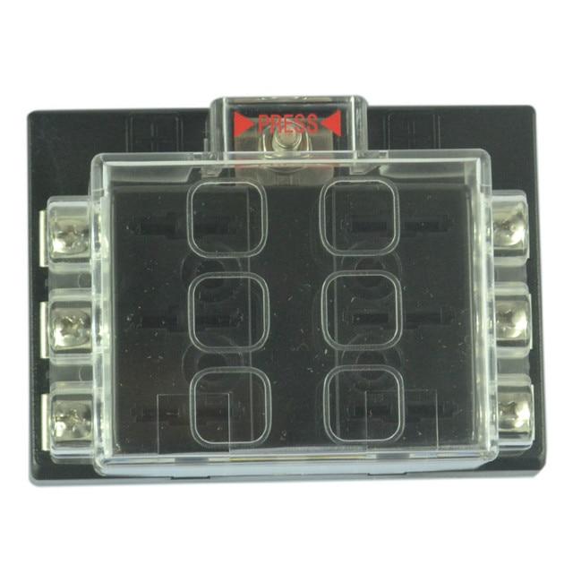 com buy way blade fuse box block holder circuit for 6 way blade fuse box block holder circuit for auto rv boat marine 12v 24v