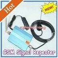 Frete Grátis GSM 980 Mobile Phone Signal Booster, sinal de Telefone celular GSM Repetidor de RF Com 10 M de Cabo + Antena, Conector N