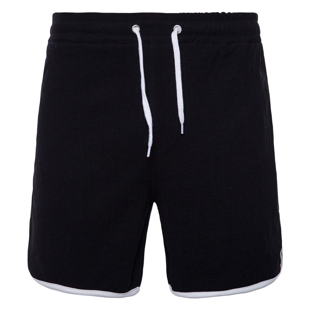 Shorts Mens Bermuda 2018 Summer Solid Color Cotton Hot Cargo Men Boardshorts Male Brand MenS Short Casual Fitness