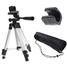 Профессиональный Камера видеокамеры штатив Стенд держатель с fishlight держатель с нейлоновая сумка для переноски