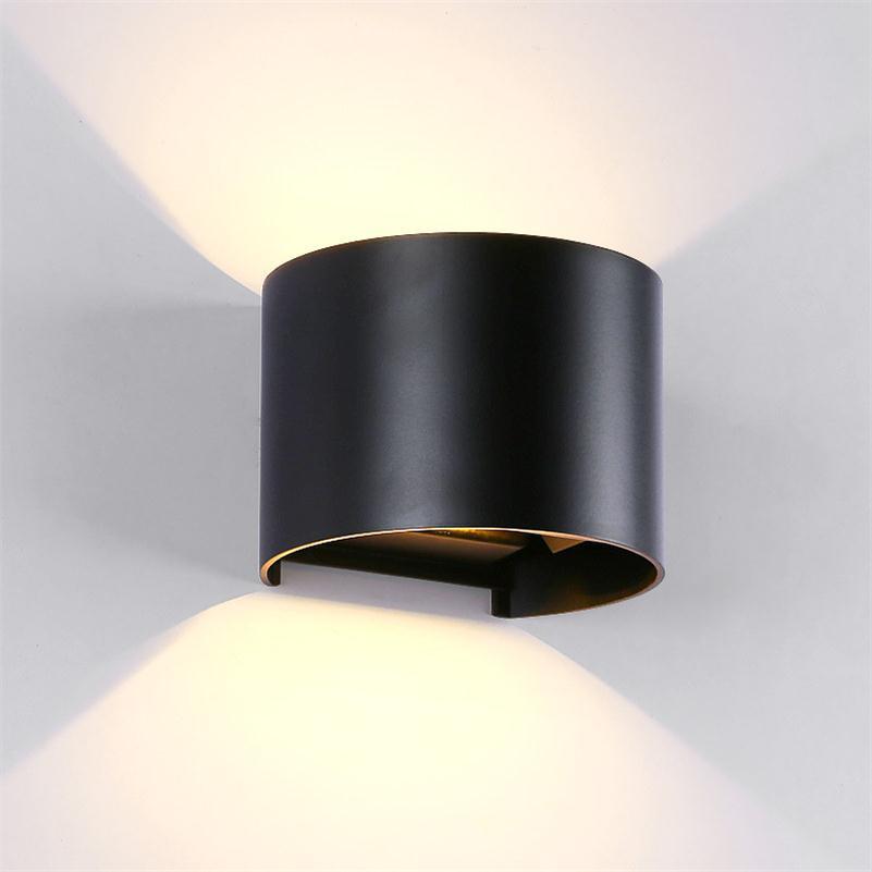 cheap sconce lighting. Tahan Air Persegi Cube Putaran COB LED Lampu Dinding Yang Modern Dalam Ruangan Luar Pencahayaan Cheap Sconce Lighting G