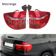 MIZIAUTO 1 PCS Outer Tail Light for BMW X5 E70 2007-2010 LED Brake Rear Lamp No Len Red White Color