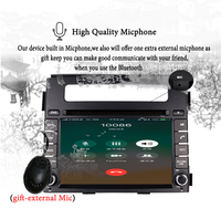 For Kia Soul 2011 2013 HD 1024*600 Car multimedia gps navigation audio video a/v dvd entertainment system with best android 9.0