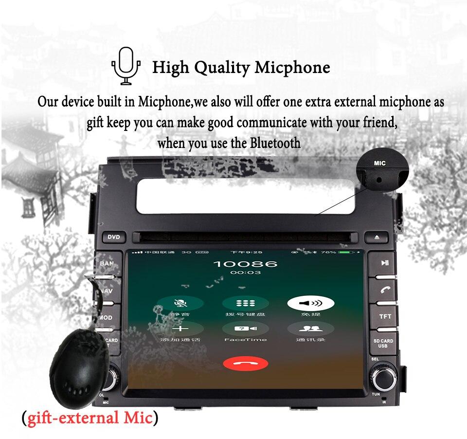 Per Kia Soul 2011 2013 HD 1024*600 Car multimedia navigazione gps audio video a/v dvd sistema di intrattenimento con il migliore android 9.0