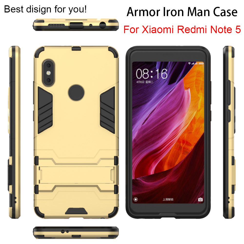 Shockproof Armor Phone Cases For Xiaomi Mi A1 A2 Mi8 SE Case For Redmi S2 5A 5 Plus Back Cover Shell for Redmi Note 5A 5 Pro