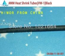 20 metros/lote 4 MM termocontracción tubos termoretráctiles manga aisladora